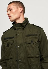 Superdry - ROOKIE FIELD - Outdoor jacket - green - 3