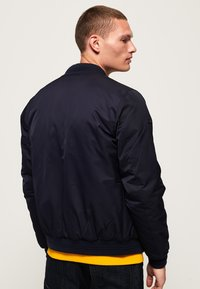 Superdry - EDIT FLIGHT - Kurtka Bomber - navy