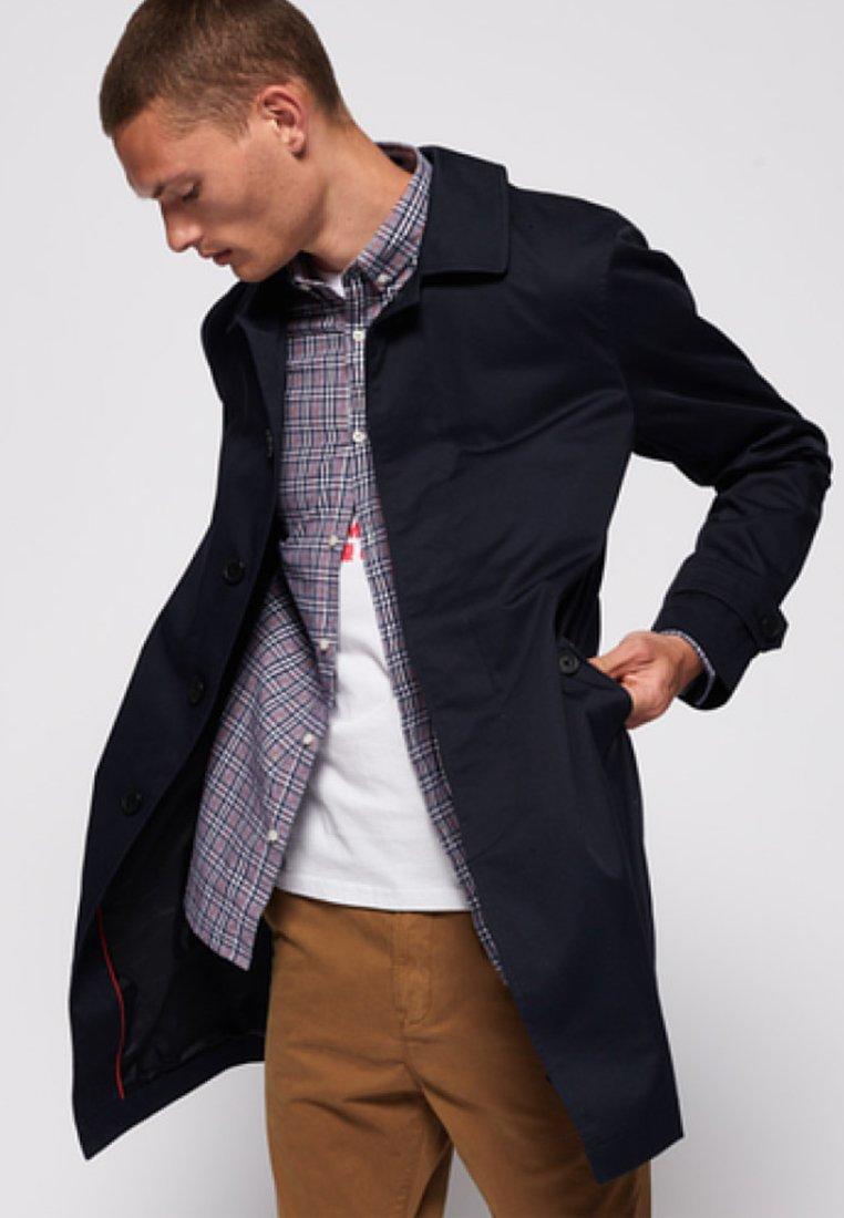 Superdry - SIMPLE EDIT  - Short coat - nautical navy blue