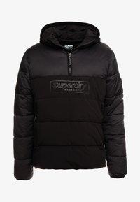 Superdry - PADDED OVERHEAD - Winterjas - black - 3