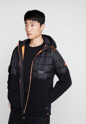POLAR HYBRID - Light jacket - black