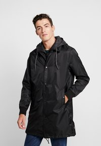 Superdry - GOODS COACH - Trenchcoat - black - 0