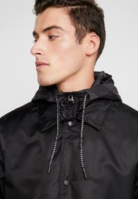 Superdry - GOODS COACH - Trenchcoat - black - 5