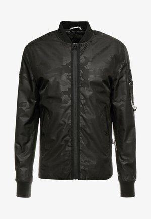 SURPLUS GOODS SHACKETT - Kurtka Bomber - black