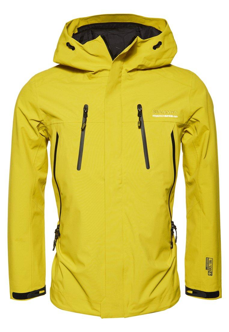 HYDROTECH ULTIMATE Regenjacke wasserabweisende Jacke sulphur yellow