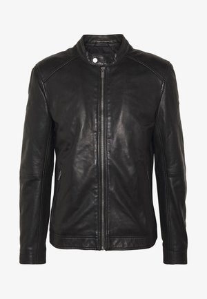 HERO LIGHT RACER - Veste en cuir - black