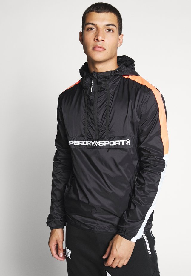 STREETSPORT OVERHEAD JACKET - Windjack - black