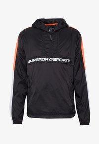 Superdry - STREETSPORT OVERHEAD JACKET - Windbreaker - black - 5