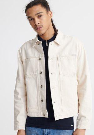 HIGHWAYMAN TRUCKER  - Denim jacket - ecru