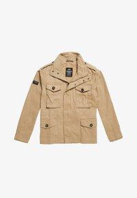 Superdry - FIELD - Summer jacket - dress beige - 4