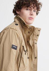 Superdry - FIELD - Summer jacket - dress beige - 3