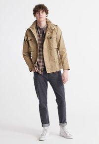 Superdry - FIELD - Summer jacket - dress beige - 1