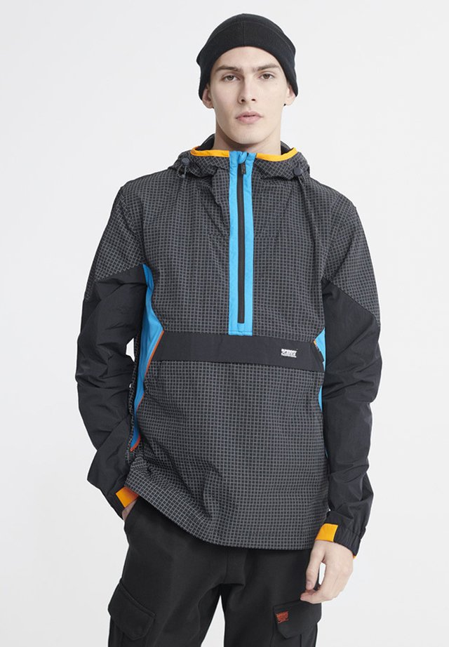 SUPERDRY CITY NEON OVERHEAD CAGOULE - Windjack - rich navy