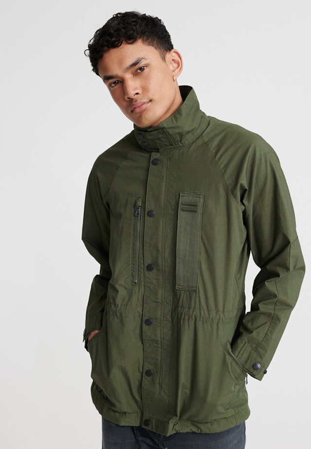 SUPERDRY UTILITY FIELD JACKET - Outdoorjas - utl olive