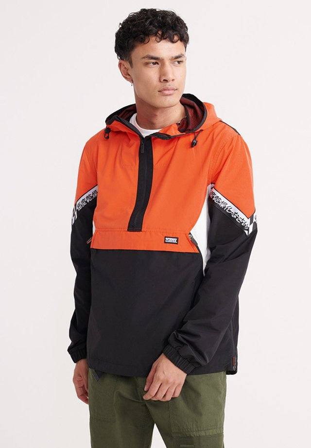 Windbreakers - bold orange