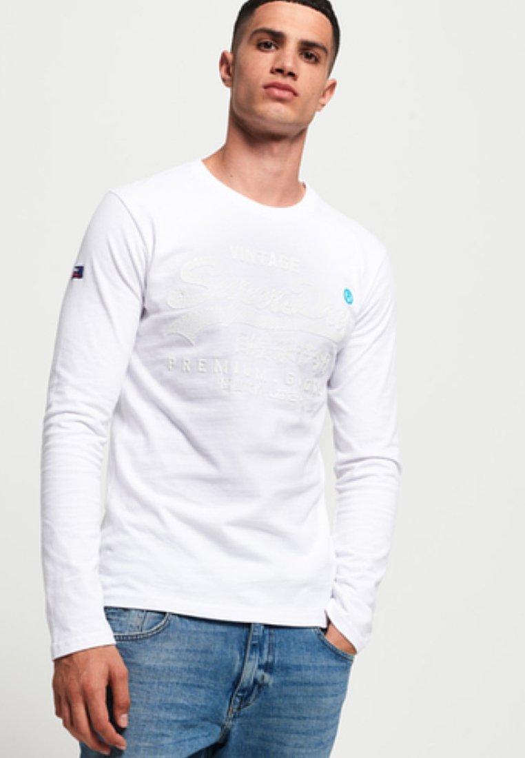 Superdry - Langarmshirt - white