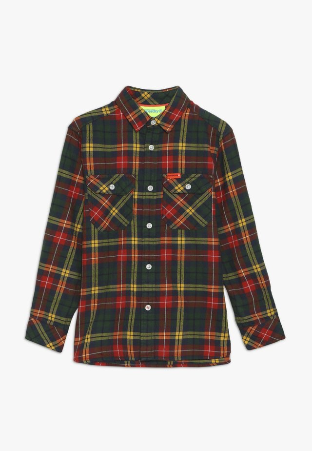 EXPLORER CHECK  - Camicia - yellow/green