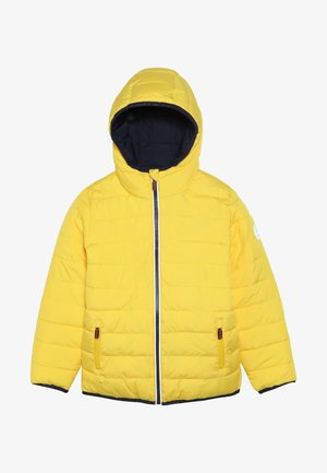 REVERSIBLE FUJI - Winterjas - yellow/downhill navy