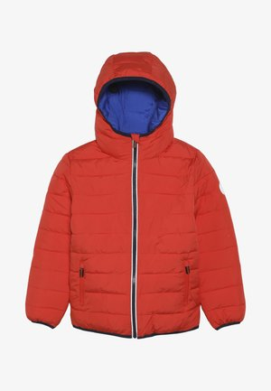 REVERSIBLE FUJI - Winterjacke - fire orange/cobalt