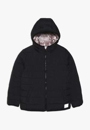 REVERSIBLE FUJI - Winter jacket - rose pink gold/black