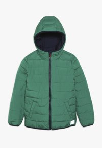 Superdry - REVERSIBLE FUJI - Winterjacke - downhill navy/fresh green - 2