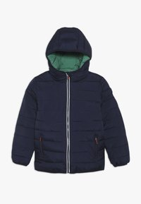 Superdry - REVERSIBLE FUJI - Winter jacket - downhill navy/fresh green - 0