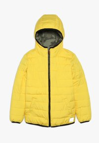 Superdry - REVERSIBLE FUJI - Chaqueta de invierno - olive/yellow - 2