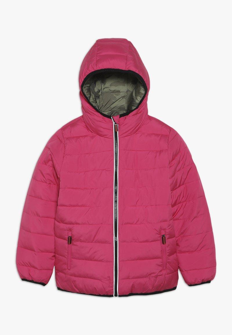 Superdry - REVERSIBLE FUJI - Zimní bunda - highlight pink