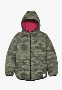 Superdry - REVERSIBLE FUJI - Winter jacket - highlight pink - 0