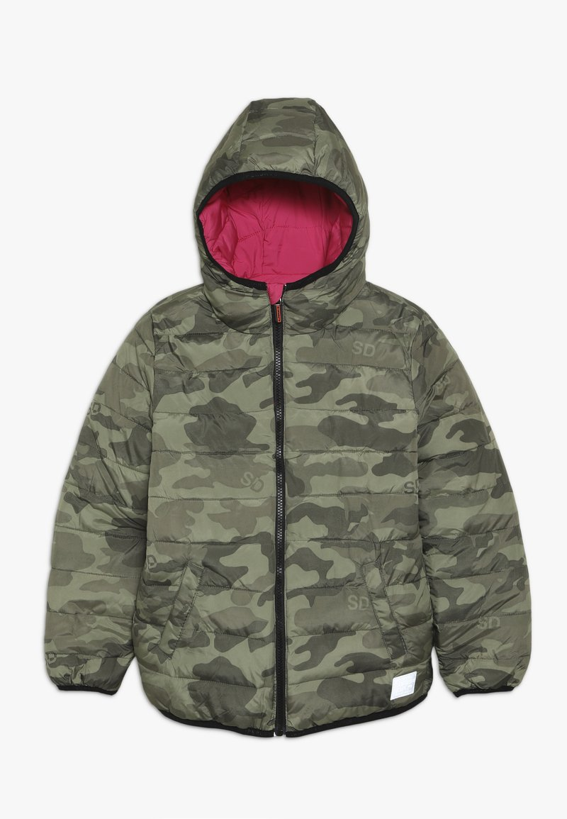Superdry - REVERSIBLE FUJI - Winter jacket - highlight pink
