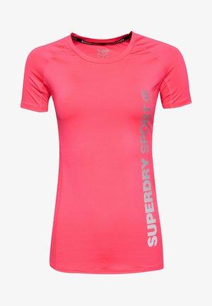 Camiseta de deporte - pink