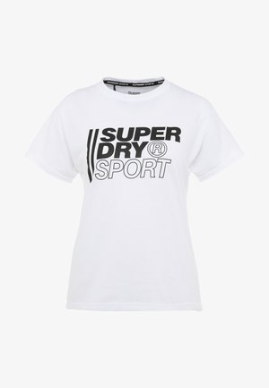 CORE SPORT GRAPHIC TEE - T-shirt con stampa - white