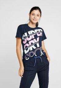 Superdry - SPORT BREAKER TEE - Print T-shirt - dark navy - 0