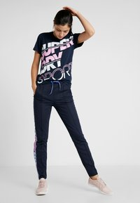 Superdry - SPORT BREAKER TEE - Print T-shirt - dark navy - 1