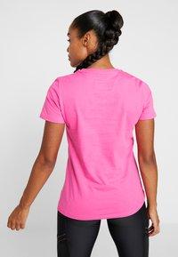 Superdry - HAZARD SPORT TEE - Print T-shirt - fluro pink - 2