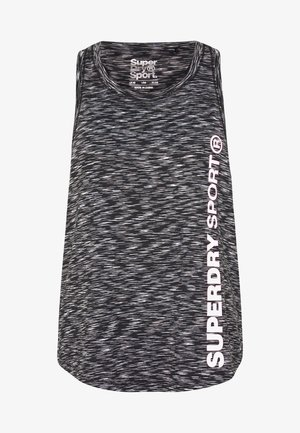 TRAINING ESSENTIAL VEST - Treningsskjorter - stormy grey