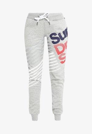 DIAGONAL SPEED SPORT JOGGER - Pantalon de survêtement - grey grit