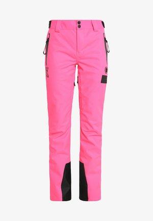 NEW SNOW PANT - Spodnie narciarskie - acid pink
