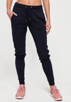 ACTIVE STUDIO LUXE - Spodnie treningowe - dark blue
