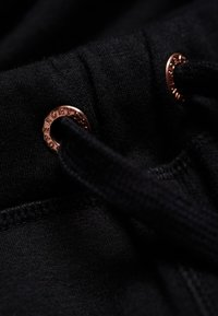 Superdry - ACTIVE STUDIO LUXE - Spodnie treningowe - black - 4