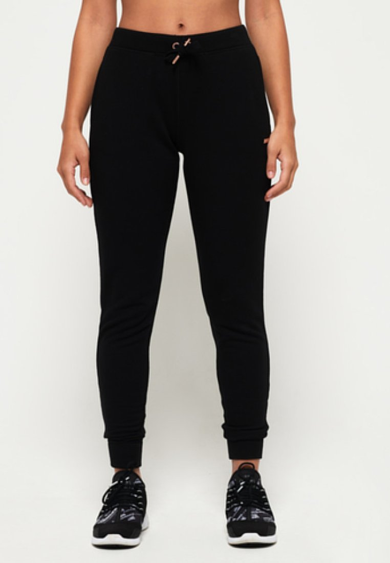 Superdry - ACTIVE STUDIO LUXE - Spodnie treningowe - black