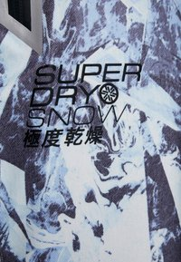 Superdry - LUXE SNOW PANT - Skibroek - frosted blue ice - 8
