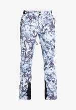 LUXE SNOW PANT - Ski- & snowboardbukser - frosted blue ice