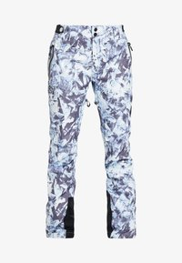 Superdry - LUXE SNOW PANT - Skibroek - frosted blue ice - 7