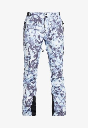 LUXE SNOW PANT - Talvihousut - frosted blue ice
