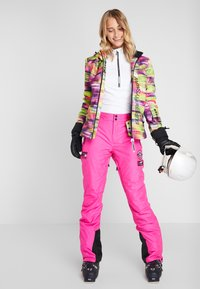 Superdry - Pantaloni da neve - luminous pink - 1
