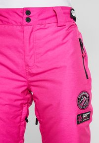 Superdry - Pantaloni da neve - luminous pink - 5
