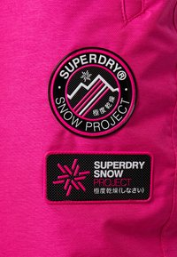 Superdry - Pantaloni da neve - luminous pink - 6