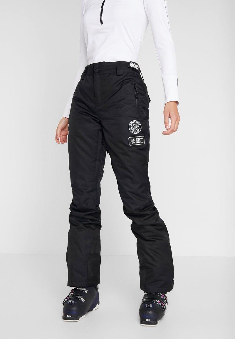 Superdry - Zimní kalhoty - onyx black