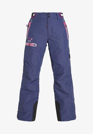 SLALOM SLICE SKI PANT - Zimní kalhoty - vortex navy space dye